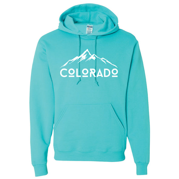 NuBlend® Hooded Sweatshirt - Colorado Mountains