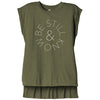 Be Still - Flowy Muscle Tee