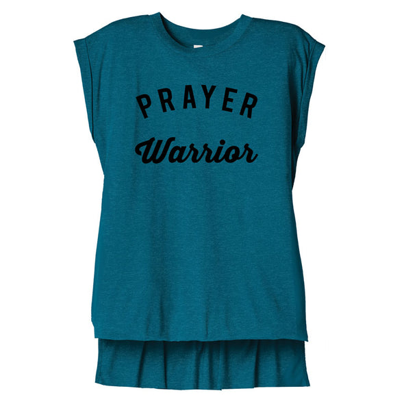 Prayer Warrior - Flowy Muscle Tee