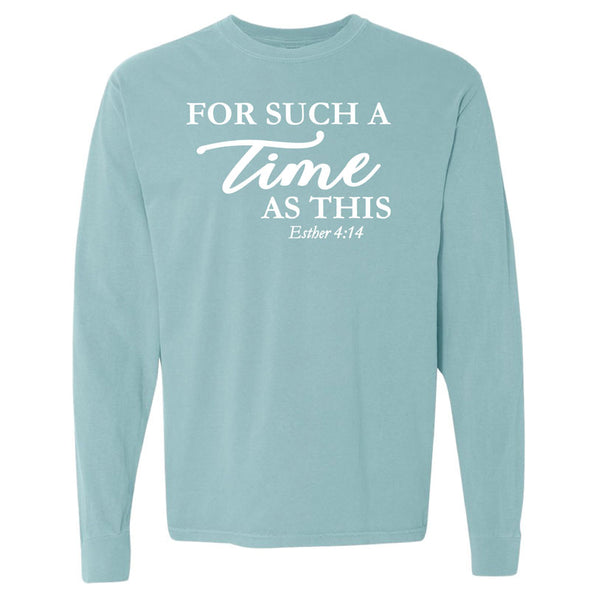 For Such A Time Script - Long-Sleeve T-Shirt