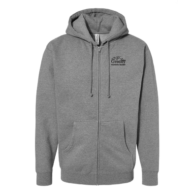 Independent Trading Co. - Heavyweight Full-Zip Hooded Sweatshirt