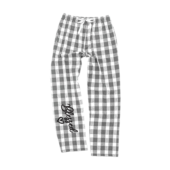 Blessed - Flannel Pants with Pockets
