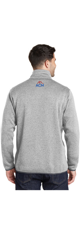 Port Authority® Sweater Fleece Jacket