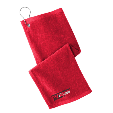 Port Authority ® Grommeted Hemmed Towel