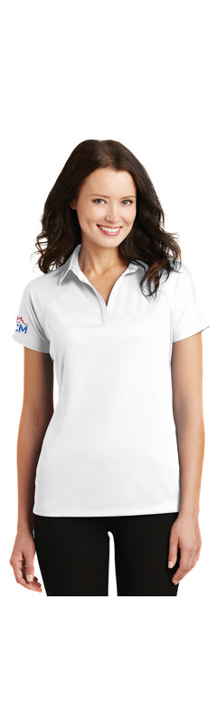 Ladies' Port Authority® Crossover Raglan Polo Shirt