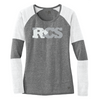 New Era® Ladies Tri-Blend Performance Baseball Tee Customizable