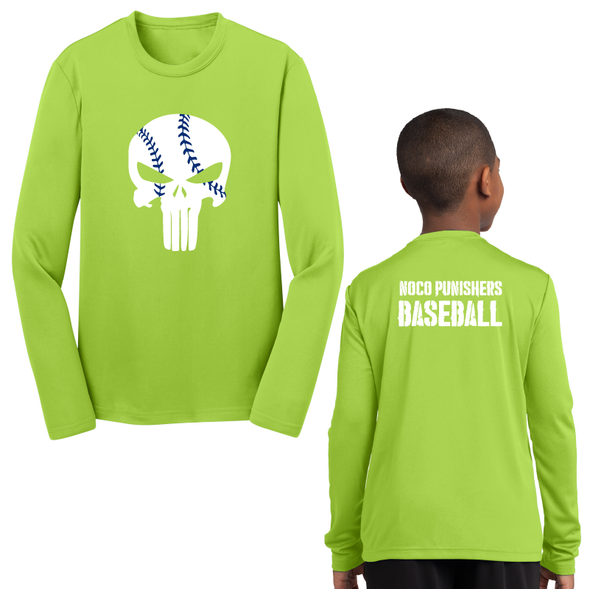 Sport-Tek® Youth Long Sleeve PosiCharge® Competitor™ Tee