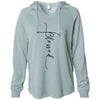 Blessed - California Wave Wash Hooded Pullover