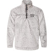 Faith Over Fear - Unisex Sherpa Fleece Quarter-Zip Pullover