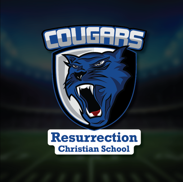 Cougar Shield Decal
