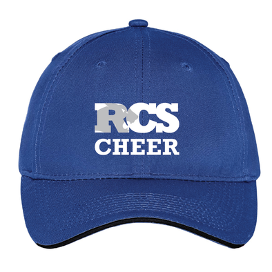 Cheer - Port & Company® Unstructured Sandwich Bill Cap
