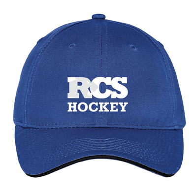 Hockey - Port & Company® Unstructured Sandwich Bill Cap