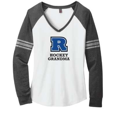 Hockey - Women's Game Long Sleeve V-Neck Tee
