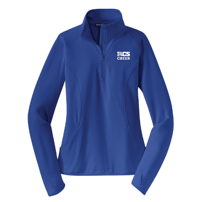Cheer - Ladies Sport-Wick® Stretch 1/2-Zip Pullover