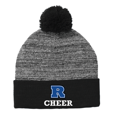 Cheer - Sport-Tek ® Heather Pom Pom Beanie