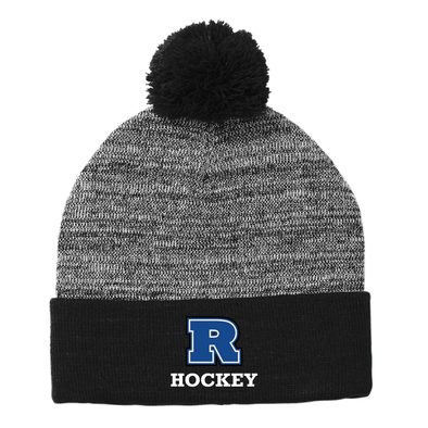 Hockey - Sport-Tek ® Heather Pom Pom Beanie