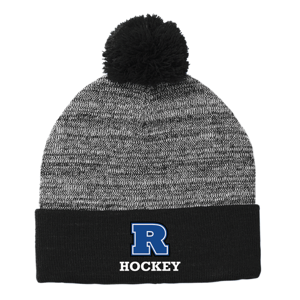 Sport-Tek ® Heather Pom Pom Beanie