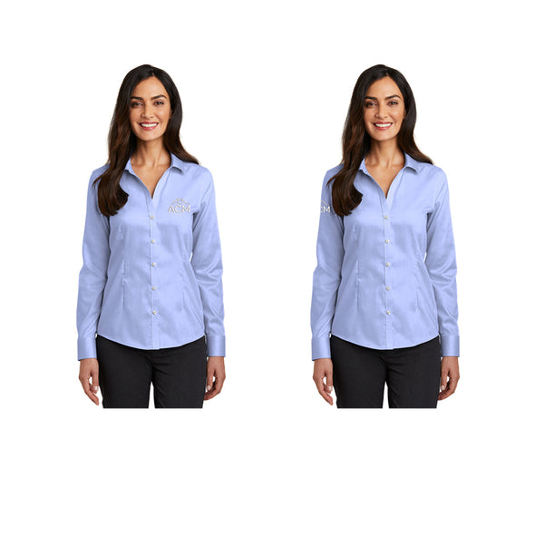 Ladies' Red House® Pinpoint Oxford Non-Iron Shirt