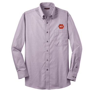 Red House® - Mini-Check Non-Iron Button-Down Shirt