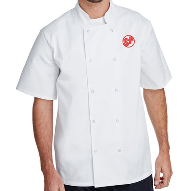 Unisex Smokin Fins Short Sleeve Chef Coat