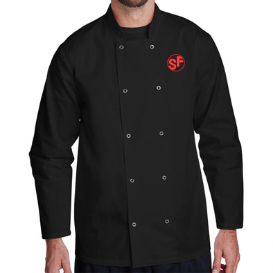 Unisex Smokin Fins Long Sleeve Chef Coat