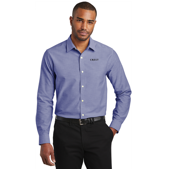 Port Authority ® Slim Fit SuperPro ™ Oxford Shirt
