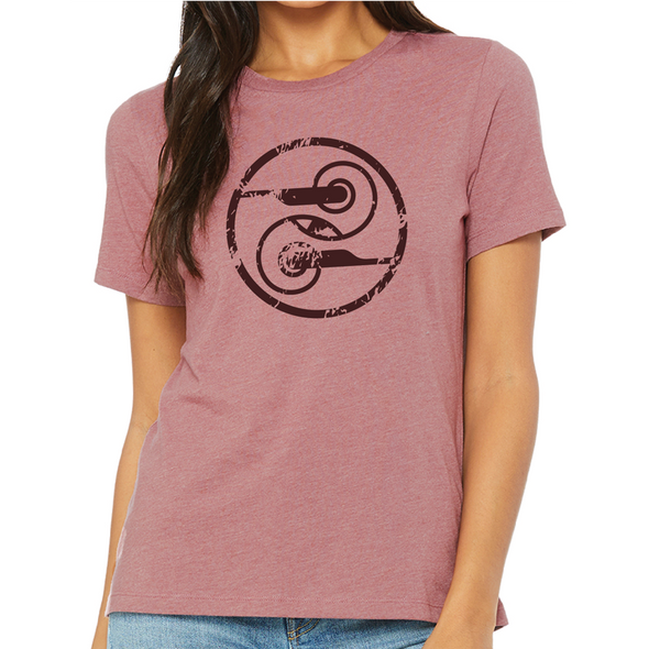 Women's Relaxed Fit Heather CVC Tee