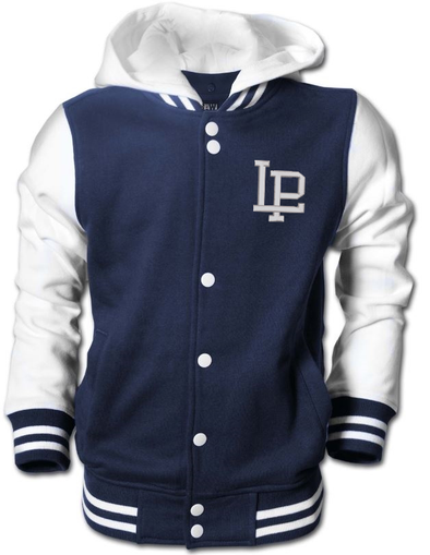 Youth Letterman Hooded Jacket
