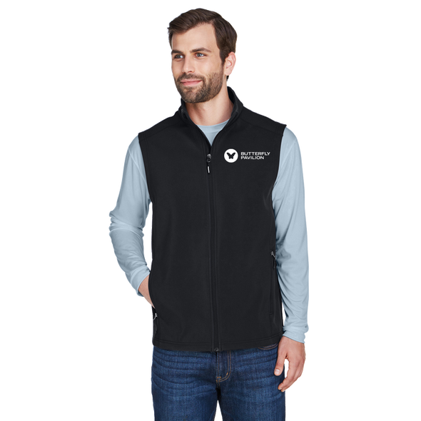 Core 365 Unisex Cruise Two-Layer Fleece Bonded Soft Shell Vest