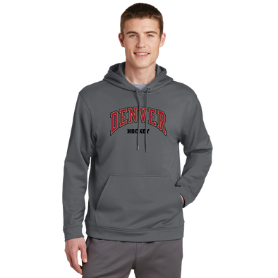 Denver Hockey Adult Unisex Dark Smoke Hoodie