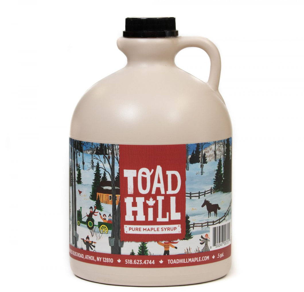 Adirondack Maple Syrup - 1/2 Gallon Jug