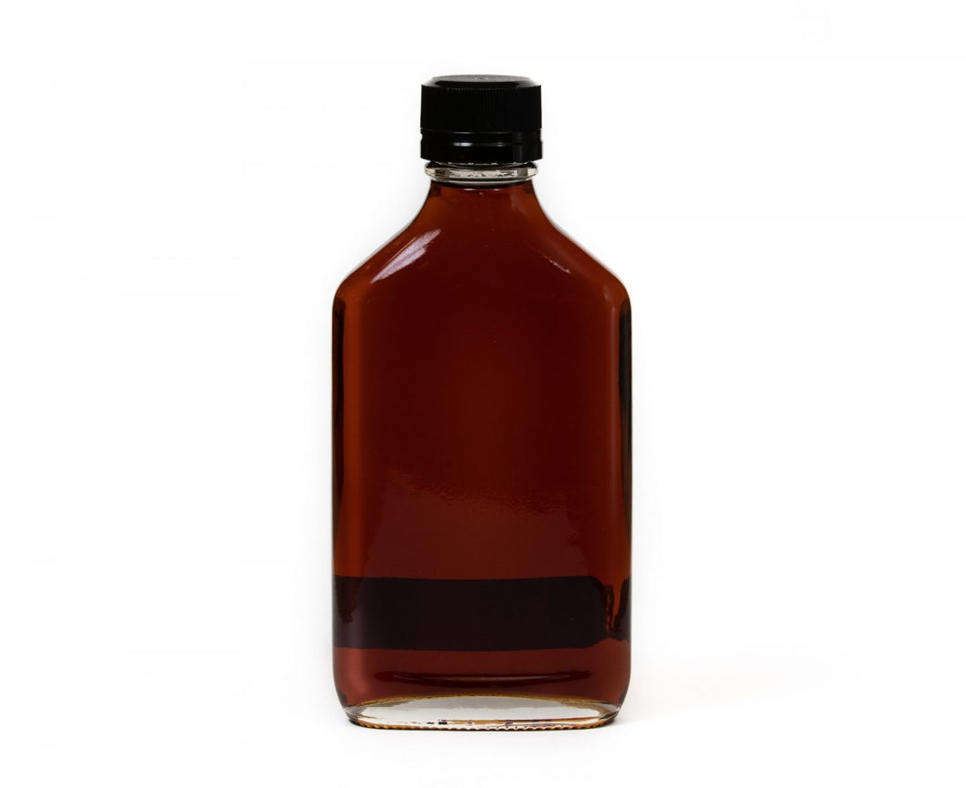 Adirondack Maple Syrup - Bourbon Barrel Aged - 200 ml Flask Bottle