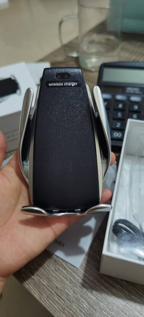 Car Mobile Holder Wireless Charger