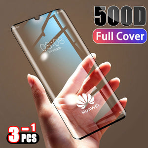 Screen Protector Film Tempered Full Cover Protective Glass For Huawei