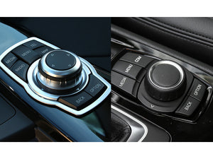 Original Car Multimedia Buttons Cover iDrive Stickers for BMW