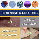 Fabric Leather Fast Drying Glue Ultra-stick Sew Kit