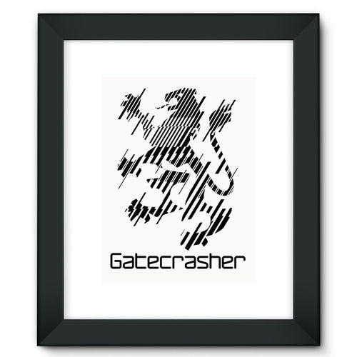 Gatecrasher Logo 2016 Framed Fine Art Print