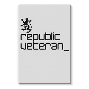 The People's Republic  __  Veteran Stretched Canvas