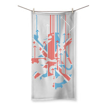 Load image into Gallery viewer, Union Jacker Rules The World Beach Towel