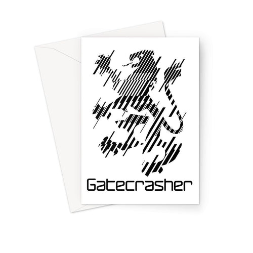 Gatecrasher Logo 2016 Greeting Card