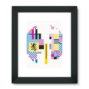 25 Years Range  Framed Fine Art Print