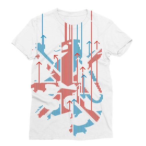 Union Jacker Rules The World Sublimation T-Shirt