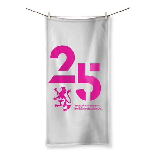 25 Pink  Beach Towel