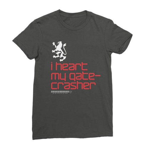 I heart my gatecrasher  Womens T-Shirt