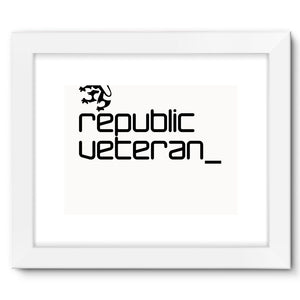 The People's Republic  __  Veteran Framed Fine Art Print