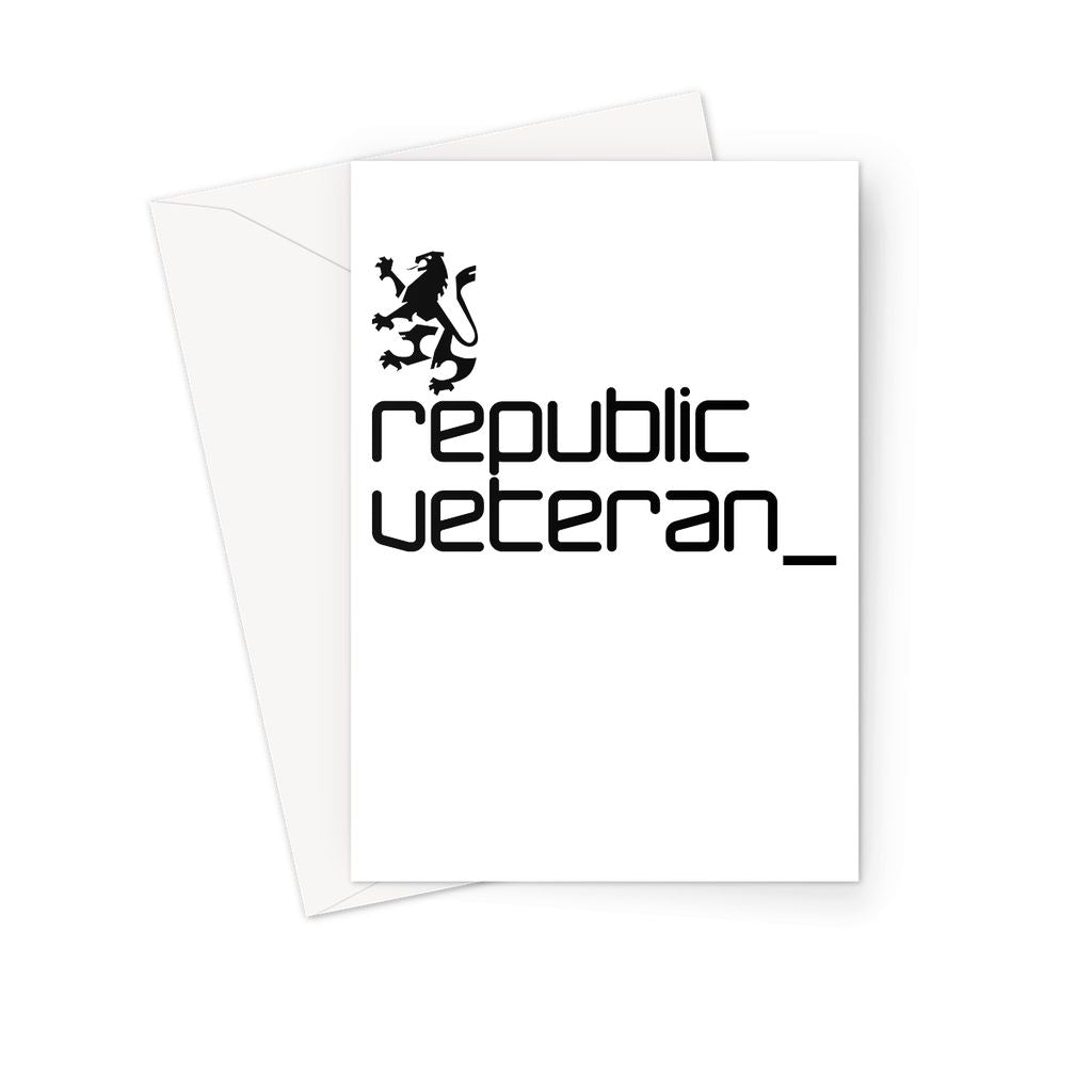 The People's Republic  __  Veteran Greeting Card