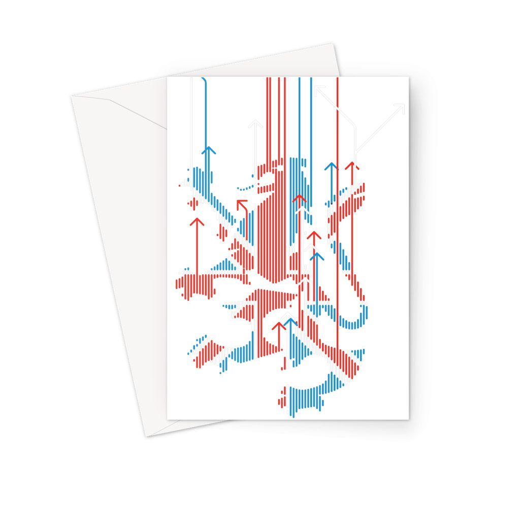 Union Jacker Rules The World Greeting Card