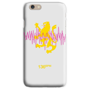 136 Beats Per Minute Phone Case