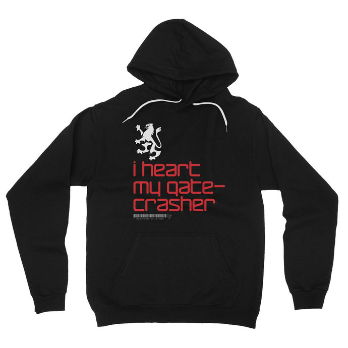 I heart my gatecrasher  Fleece Pullover Hoodie