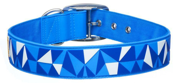 Gummi Pet Geo design Glow in the Dark Dog Collars - rovers-kit